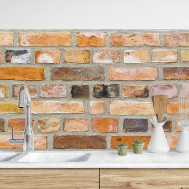 Küchenrückwand - Colours of the Wall