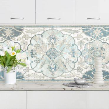 Küchenrückwand - Holzpaneel Persisch Vintage II