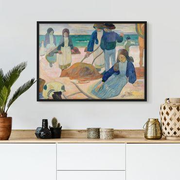 Bild mit Rahmen - Paul Gauguin - Tangsammlerinnen - Querformat 3:4