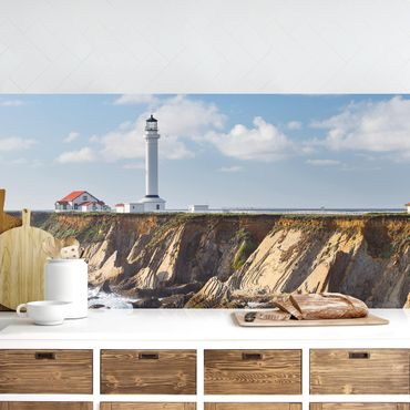 Küchenrückwand - Point Arena Lighthouse Kalifornien