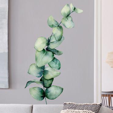 Wandtattoo - Aquarell Eukalyptus XXL