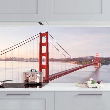 Küchenrückwand - Golden Gate Bridge in San Francisco