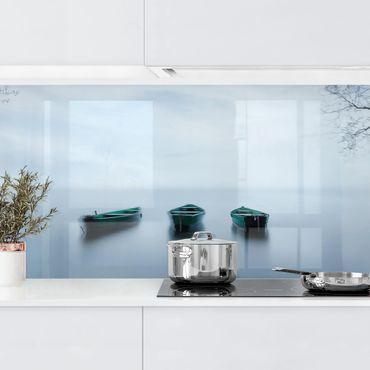 Küchenrückwand - Ruhe auf dem See