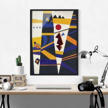 Bild mit Rahmen - Wassily Kandinsky - Bindung - Hochformat 3:4