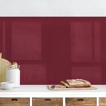 Küchenrückwand - Bordeaux