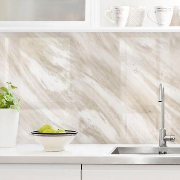 Küchenrückwand - Palissandro Marmor Beige