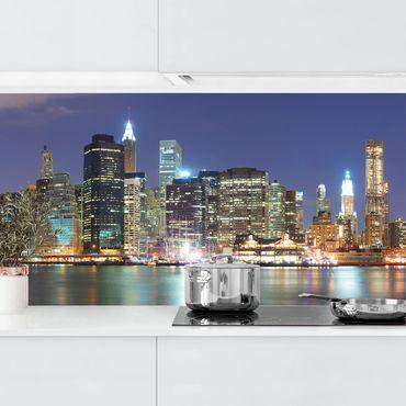 Küchenrückwand - Manhattan in New York City