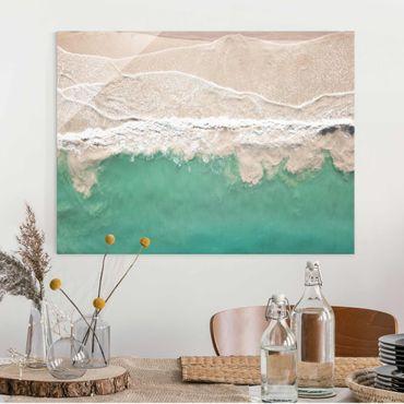 Glasbild - Das Meer - Querformat