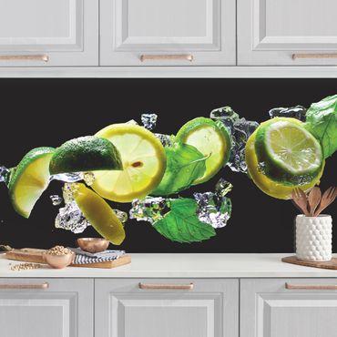 Küchenrückwand - Mojito Zutaten