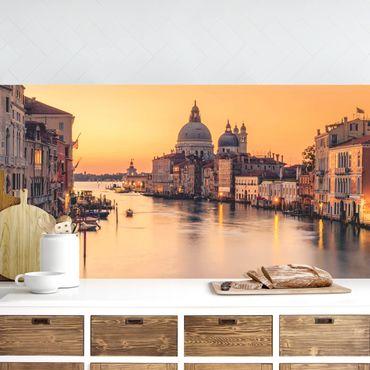 Küchenrückwand - Goldenes Venedig