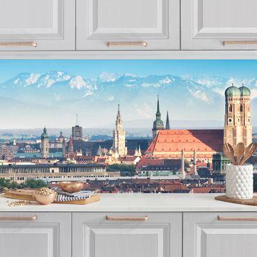 Küchenrückwand - München
