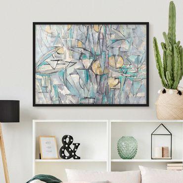 Bild mit Rahmen - Piet Mondrian - Komposition X - Querformat 3:4