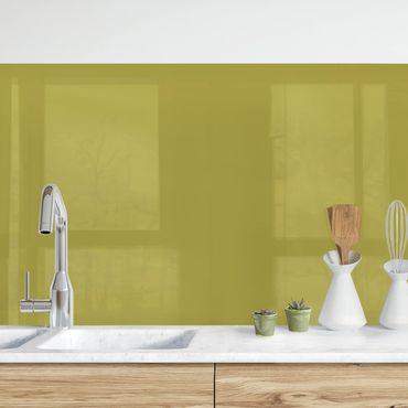 Küchenrückwand - Lindgrün Bambus