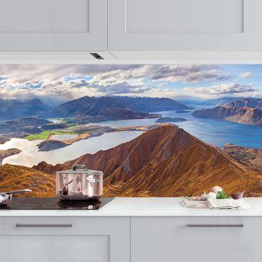 Küchenrückwand - Roys Peak in Neuseeland