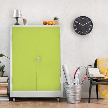Möbelfolie apfelgrün einfarbig - Frühlingsgrün - Möbel Klebefolie hellgrün
