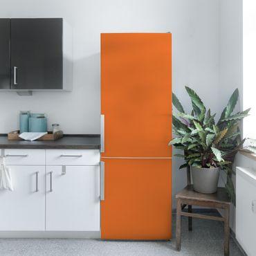 Möbelfolie orange rot einfarbig - Mohn - Klebefolie für Möbel