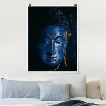 Poster - Delhi Buddha - Hochformat 3:4
