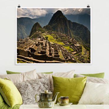 Poster - Machu Picchu - Querformat 3:4