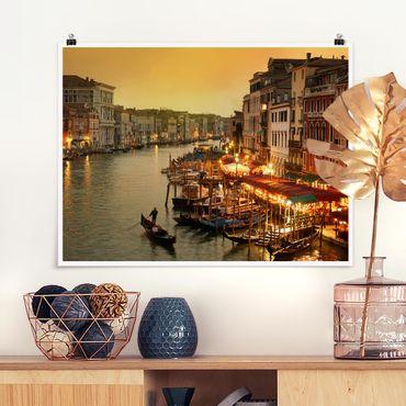 Poster - Großer Kanal von Venedig - Querformat 3:4