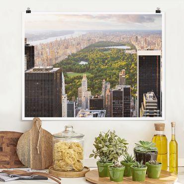 Poster - Blick über den Central Park - Querformat 3:4