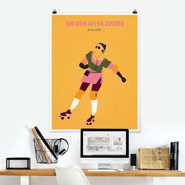 Poster - Filmposter Gib dem Affen Zucker - Hochformat 4:3