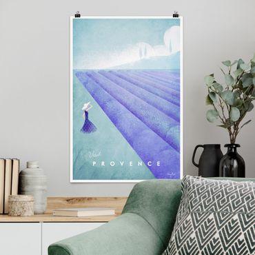 Poster - Reiseposter - Provence - Hochformat 3:2