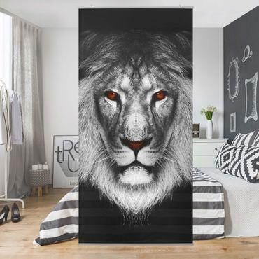Raumteiler - Dark Lion II 250x120cm