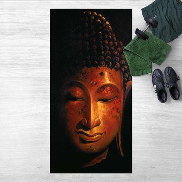 Vinyl-Teppich - Madras Buddha - Hochformat 1:2