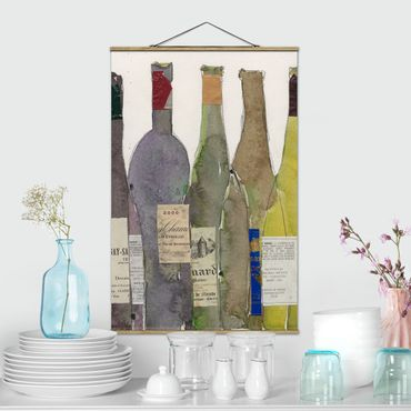 Stoffbild mit Posterleisten - Wein & Spirituosen IV - Hochformat 2:3