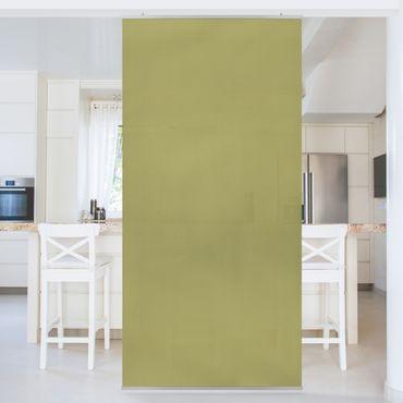 Raumteiler - Lindgrün Bambus 250x120cm