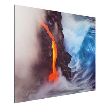 Alu-Dibond Bild - Elemente der Natur