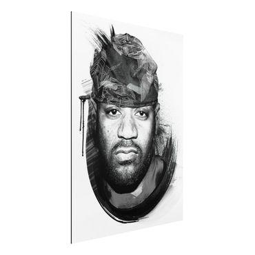 Alu-Dibond Bild - Ghostface Killah - Wu Tang Clan