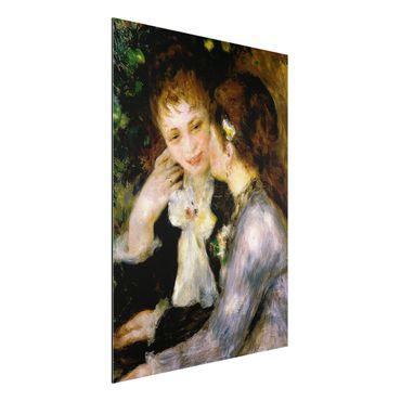 Alu-Dibond Bild - Auguste Renoir - Bekenntnisse