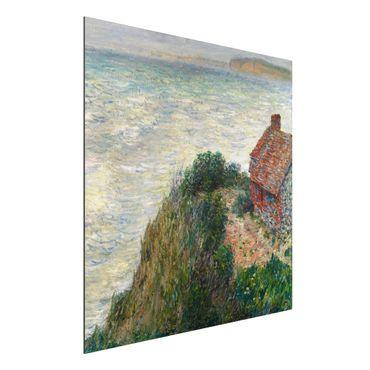 Alu-Dibond Bild - Claude Monet - Fischerhaus in Petit Ailly