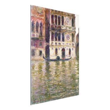 Alu-Dibond Bild - Claude Monet - Der Palazzo Dario