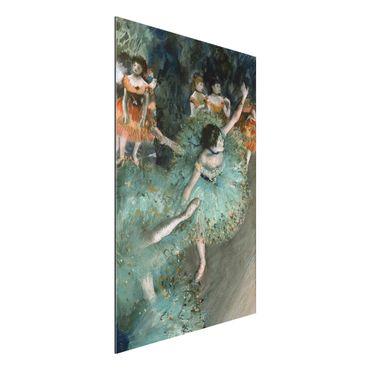Alu-Dibond Bild - Edgar Degas - Tänzerinnen in Grün