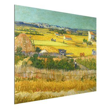 Alu-Dibond Bild - Vincent van Gogh - Die Ernte
