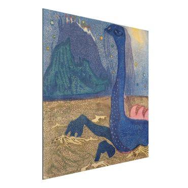 Alu-Dibond Bild - Wassily Kandinsky - Mondnacht