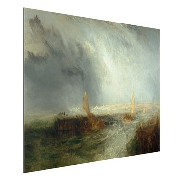 Alu-Dibond Bild - William Turner - Ostende