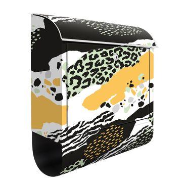 Briefkasten - Animalprint Zebra Tiger Leopard Afrika