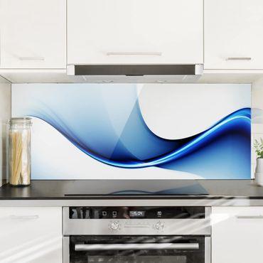 Spritzschutz Glas - Blaue Wandlung - Panorama - 5:2