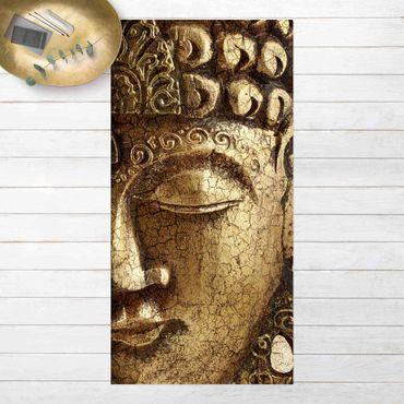 Vinyl-Teppich - Vintage Buddha - Hochformat 1:2