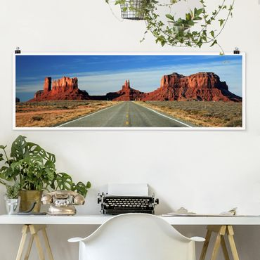 Poster - Colorado-Plateau - Panorama Querformat