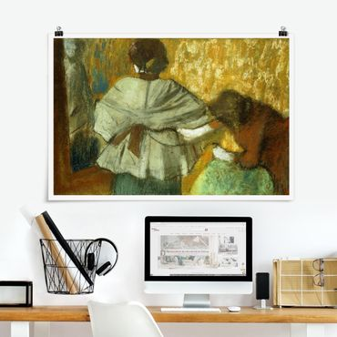Poster - Edgar Degas - Modistin - Querformat 2:3