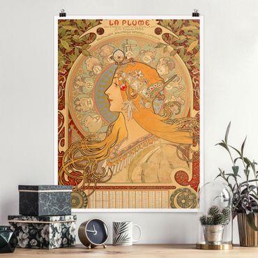 Poster - Alfons Mucha - Sternkreiszeichen - Hochformat 3:4