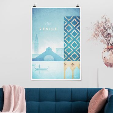 Poster - Reiseposter - Venedig - Hochformat 3:2
