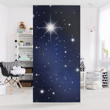 Raumteiler - Stars 250x120cm