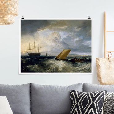 Poster - William Turner - Sheerness - Querformat 3:4
