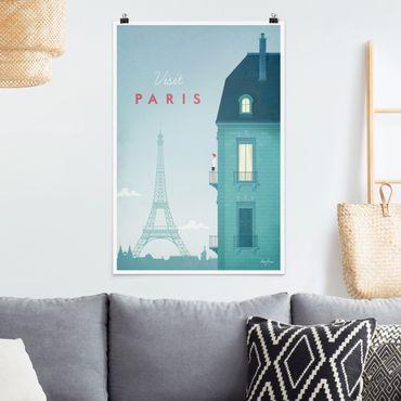 Poster - Reiseposter - Paris - Hochformat 3:2