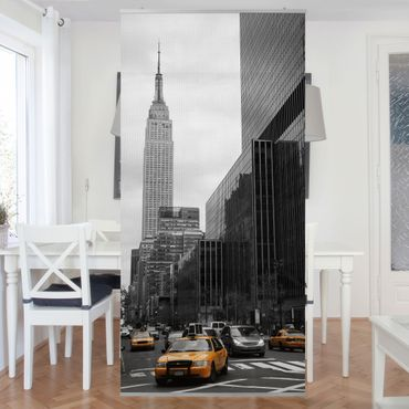 Raumteiler - Klassisches NYC 250x120cm